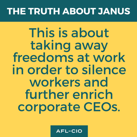 This is about taking away freedoms at work in order to silence workers and further enrich corporate CEOs
